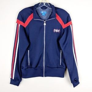 adidas | Navy Original Sport Stripe Track Jacket-A